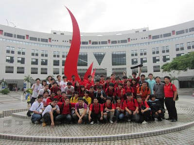 Universiti Teknologi Malaysia in Robocon 2012 Hong Kong - Yeong Che